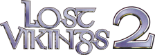 Lost Vikings 2, The logo