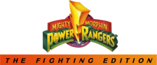 Mighty Morphin Power Rangers - The Fighting Edition logo