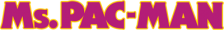 Ms. Pac-Man logo