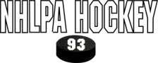 NHLPA Hockey '93 logo