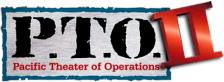 P.T.O. II - Pacific Theater of Operations logo