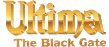 Ultima VII - The Black Gate logo