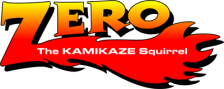 Zero the Kamikaze Squirrel logo