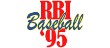 RBI Baseball '95 logo