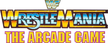 WWF WrestleMania - The Arcade Game logo
