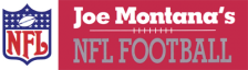 Joe Montana's NFL Football logo