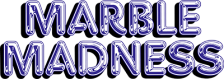 Marble Madness logo