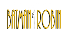 Adventures of Batman & Robin, The logo