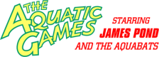 Aquatic Games Starring James Pond and the Aquabats, The logo