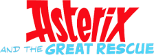 Asterix and the Great Rescue logo