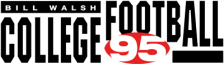 Bill Walsh College Football 95 logo