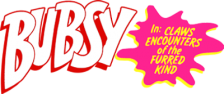 Bubsy in Claws Encounters of the Furred Kind logo