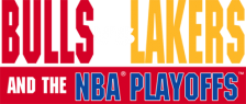 Bulls vs Lakers and the NBA Playoffs logo
