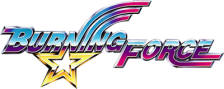 Burning Force logo