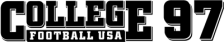 College Football USA 97 logo
