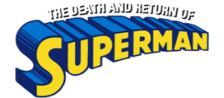 Death and Return of Superman, The logo