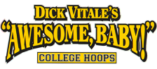 Dick Vitale's 'Awesome, Baby!' College Hoops logo