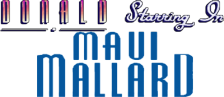 Donald in Maui Mallard logo