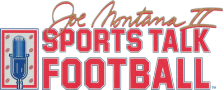 Joe Montana II Sports Talk Football logo