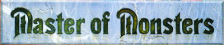Master of Monsters logo