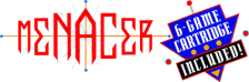 Menacer 6-Game Cartridge logo