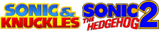 Sonic & Knuckles + Sonic The Hedgehog 2 logo