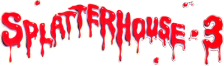 Splatterhouse 3 logo