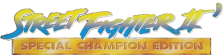 Street Fighter II' - Special Champion Edition logo