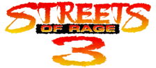 Streets of Rage 3 logo