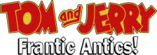 Tom and Jerry - Frantic Antics logo