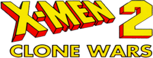 X-Men 2 - Clone Wars logo