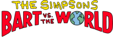 Simpsons, The - Bart vs. The World logo