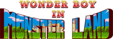 Wonder Boy in Monster Land logo
