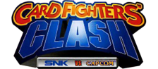 SNK vs. Capcom - Card Fighters' Clash - Capcom Version logo