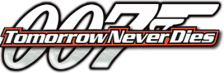 007 - Tomorrow Never Dies logo