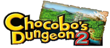 Chocobo's Dungeon 2 logo