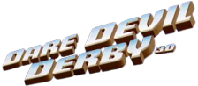 Dare Devil Derby 3D logo