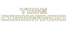 Time Commando logo