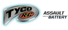 Tyco R-C - Assault with a Battery logo