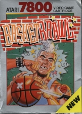 Basketbrawl Atari 7800 cover artwork