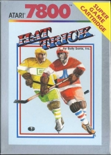 Hat Trick Atari 7800 cover artwork