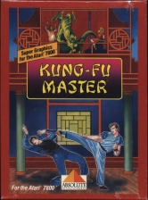 Kung-Fu Master Atari 7800 cover artwork