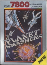 Planet Smashers Atari 7800 cover artwork