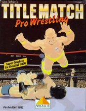Title Match Pro Wrestling Atari 7800 cover artwork