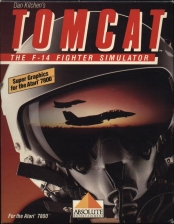 Tomcat - The F-14 Fighter Simulator Atari 7800 cover artwork
