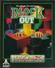 Block Out Atari Lynx cover artwork