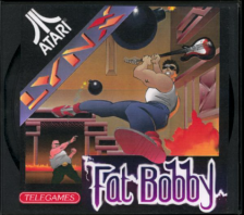 Fat Bobby Atari Lynx cover artwork