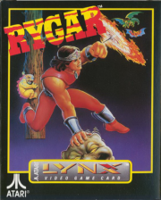 Rygar - Legendary Warrior Atari Lynx cover artwork