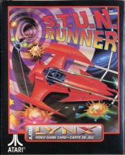 S.T.U.N. Runner Atari Lynx cover artwork