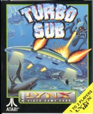 Turbo Sub Atari Lynx cover artwork